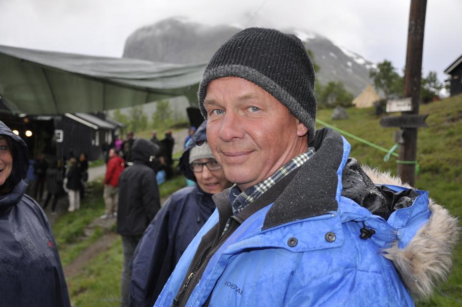 Lars Åge Hilde, bestyrer på Gjendebu
