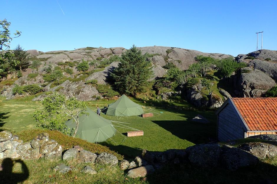 Camp på Litle Færøy