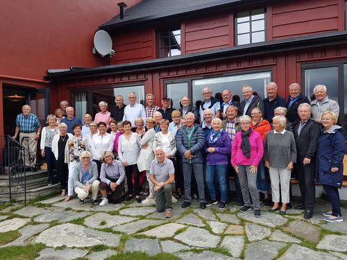 Seniorgruppa sin tur til Rondane august 2017
