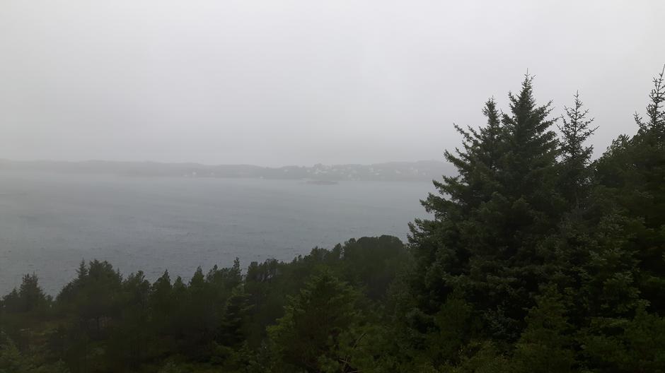 Utsikten mot Turøy i dag