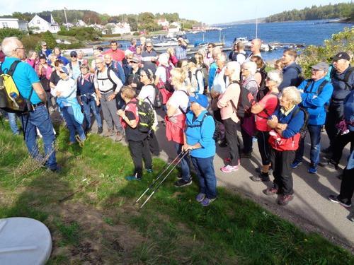 Seniorene på tur til Torød Stranda, Nøtterøy 19. september