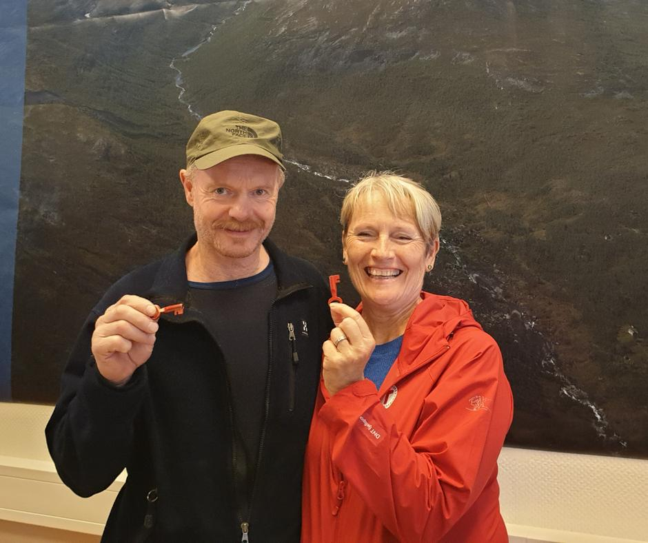 Anne Liss Hofseide og Bård Olav Berge