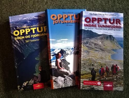 20% avslag på bøker, kart, turartiklar m.m vedTurlagskontoret i Førde!