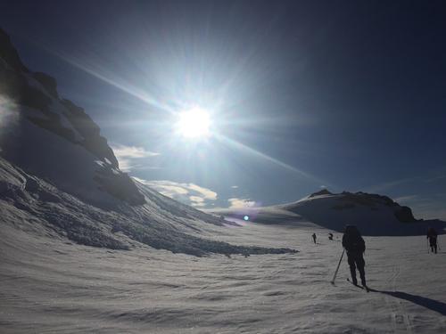 Ein strålande dag på ski! Frå skitur med Vegard i 2017