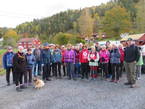 Frå Onsdagstur til Krokfjella i Risør og Gjerstad 13.10.21