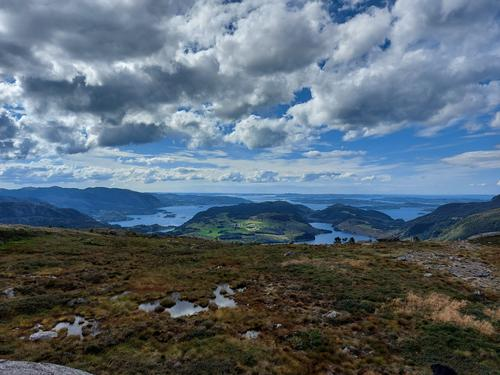 Utsikt mot Bratt-Hetland