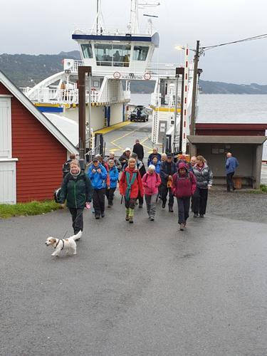 Tur til Lerøyna med Tirsdagsgruppa