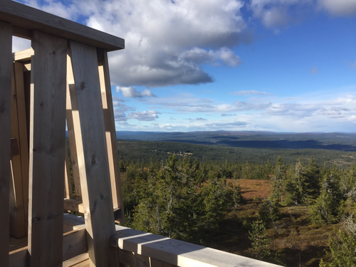 Utsiktstårnet på Gjetholen / Gitvola.