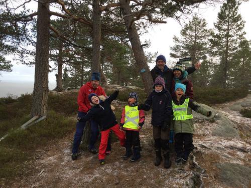 Rimfrostturen med Barnas Turlag i 2018