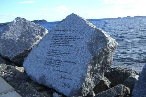 Bøkefrokost og tur i poesiparken Kr. Himmelfartsdag