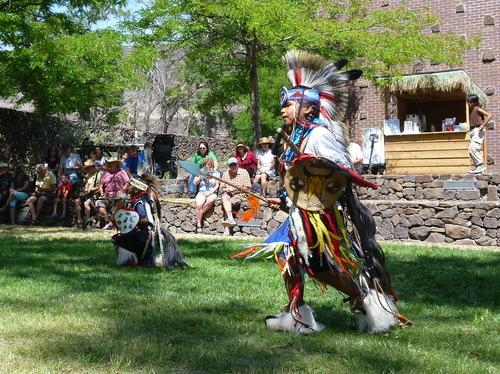 Warm Springs - Indian festival