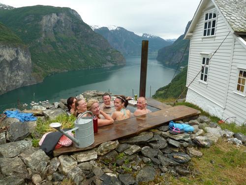 Stigen badestamp