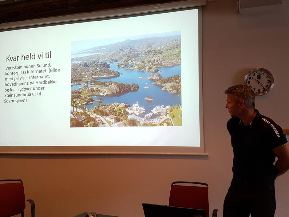Bjarte Engevik er nytilsett leiar i Fjordkysten Friluftsråd.
