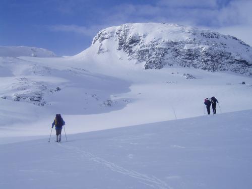 Skitur i Skarvheimen