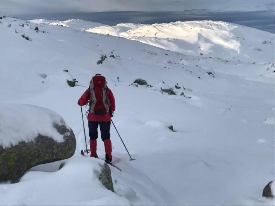 Frafjorheiene 8. Januar 2017 Litt lite snø, men nok.