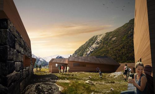 H.M. Dronning Sonja opnar Nye Tungestølen Turisthytte