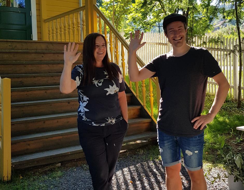 Vi tar farvel med vertskapet Trine Grann og Eirik Høyme Rogn for denne gangen.