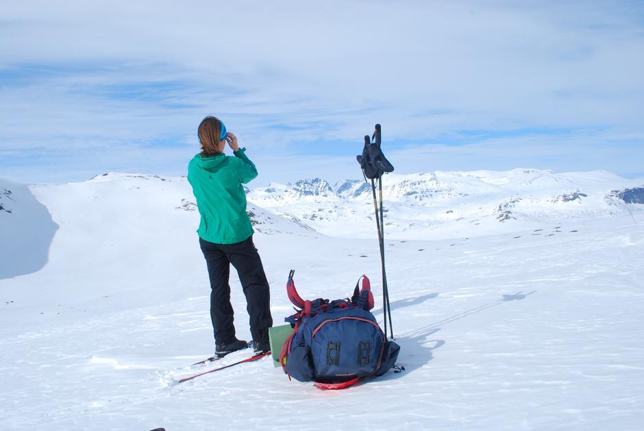 På kurset får du tips og triks for vinter-fjelltur - blant annet om pakking av sekk.