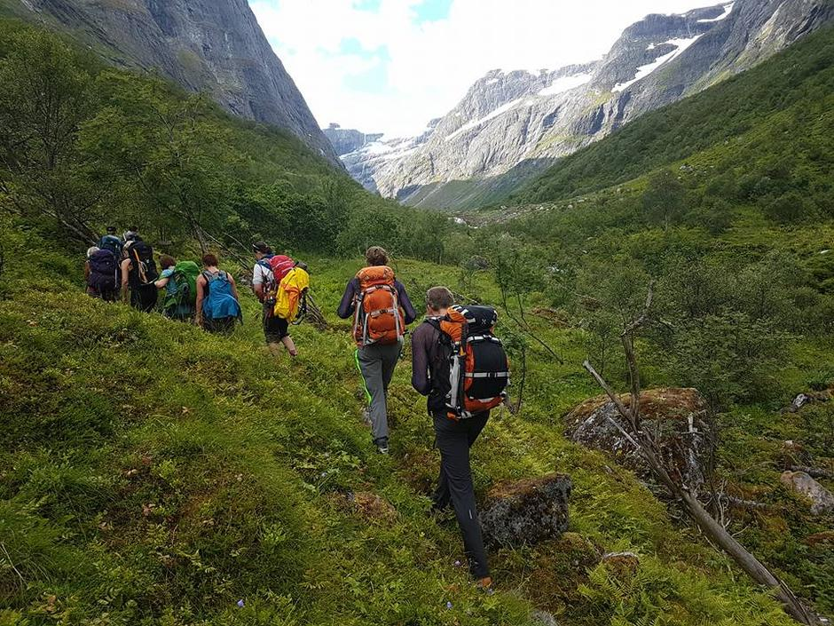 29.07.2017 - Nesdal-Ruteflotdalen-Nordfjordvaren- Flatsteinbu-Kvame