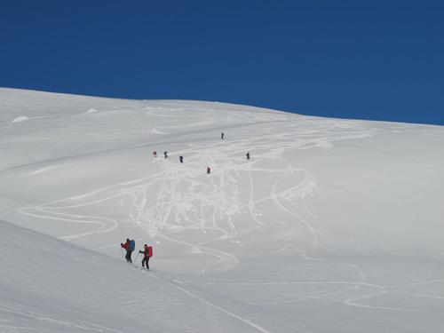 Turen til Steinegga byr på fine renn.