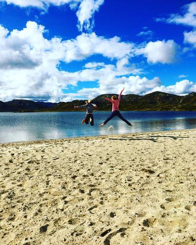 Flott fjelltur til «secret beach» på Suleskard - Rågeloni