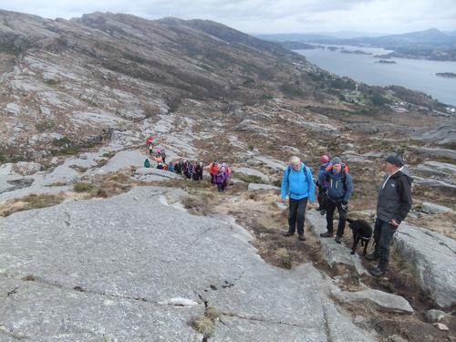 Tur til Haganesfjellet, onsdag 19. april -17