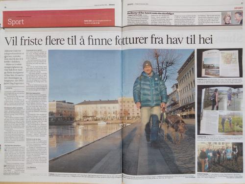 Flott artikkel i Agderposten om årets julegave