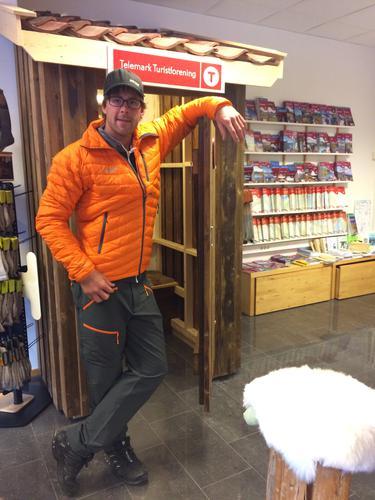 Nyhet i butikken: Dun fra Bergans