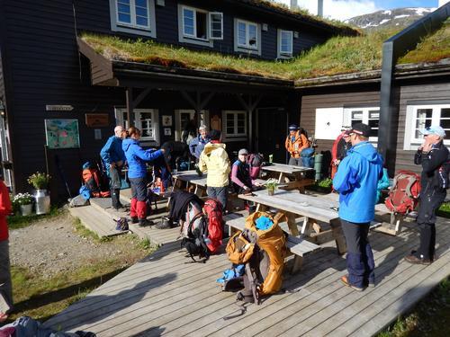 Avslapping på Skogadalsbøen