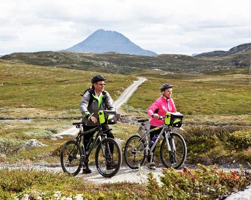 Fem fine sykkelturer