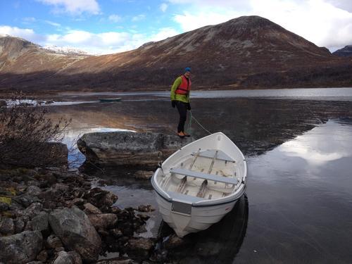 Båtene på Ulvådalsvatnet blir tatt inn 6. oktober