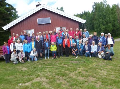Sesongavslutning for seniorene på Trollsvann 1.juli