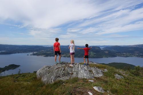 Tveitafjellet via Åsheimveten på Osterøy