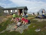 Store grupper  og dugnader på NOTs hytter.