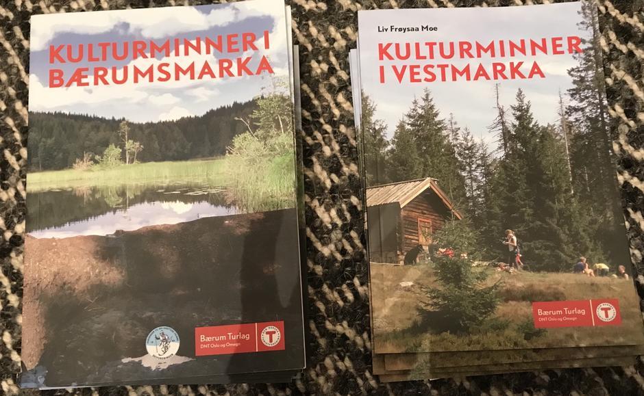 Kulturminner i Bærumsmarka og Kulturminner i Vestmarka