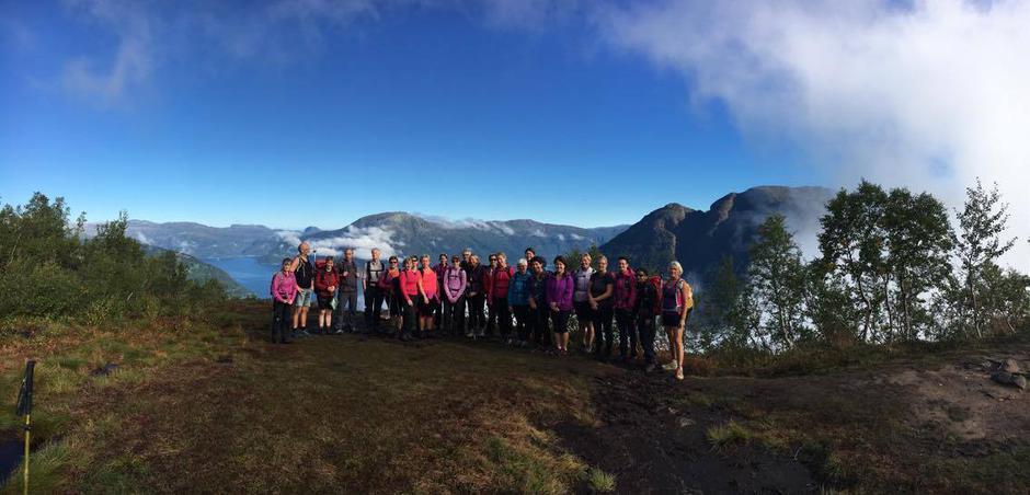 Kvinnherad Turlag fellestur 4.sept.2016
