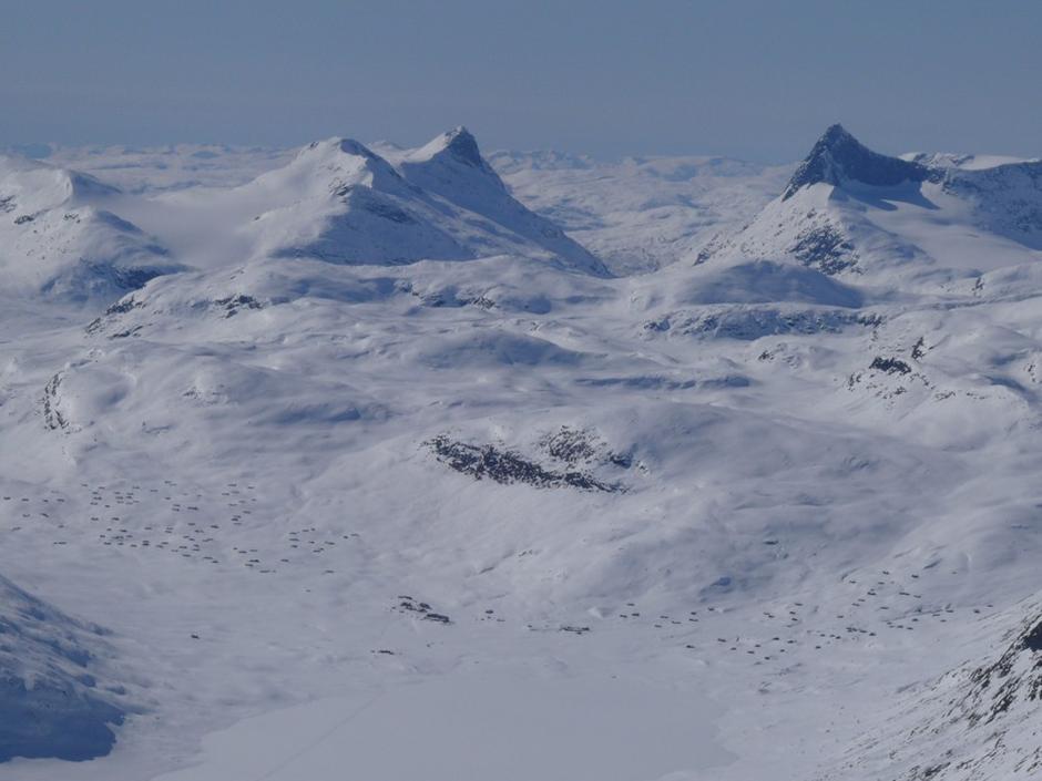 Utsikt fra Gadeberg