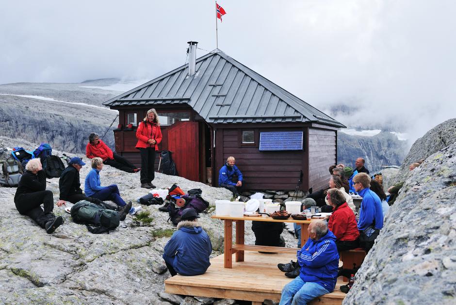 Flora Turlag si hytte på Gjegnabu er ein del av måla i Tutrimmen 2020