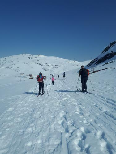 Slik gjekk turen : Barnas turlag skitur til Målsethytta