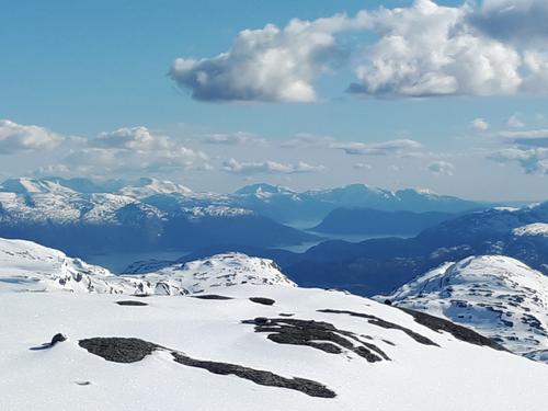 Hardangerfjorden sett frå Kaldenuten