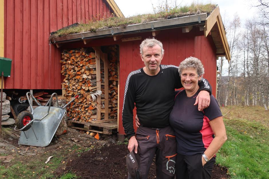 Irene og Oddbjørn Bolme, tilsyn på Sætersetra