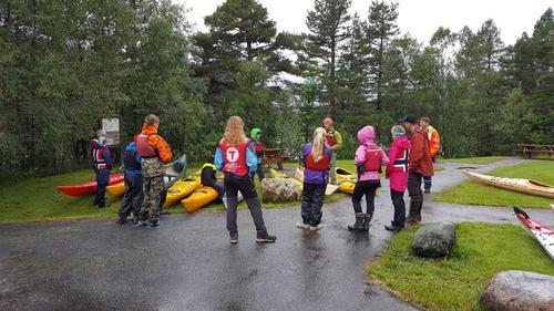 FERIEAKTIVITET: Kajakk - kurs med DNT Ung