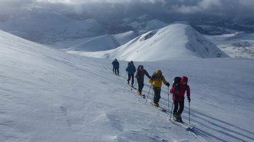 Fjellsport Romsdalen på tur - Sprovstinden