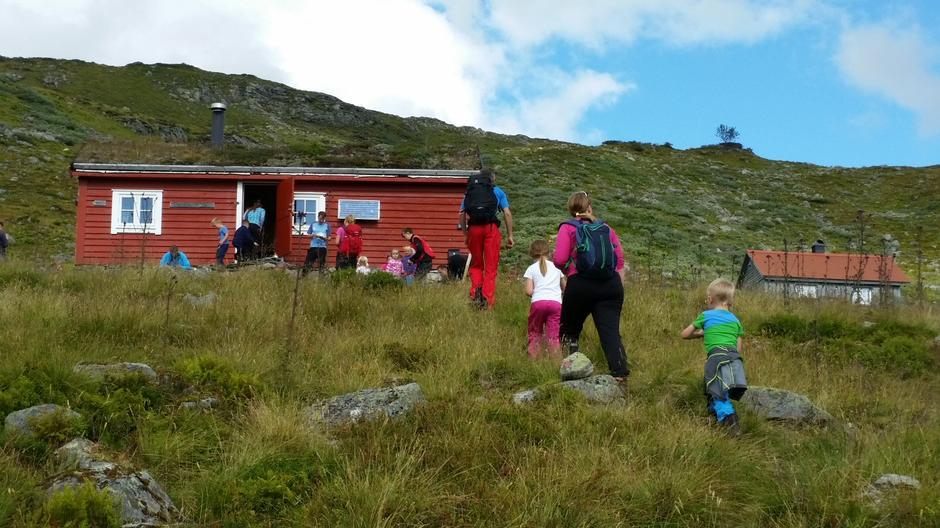 Grøssete var turmålet for BT Sogndal.