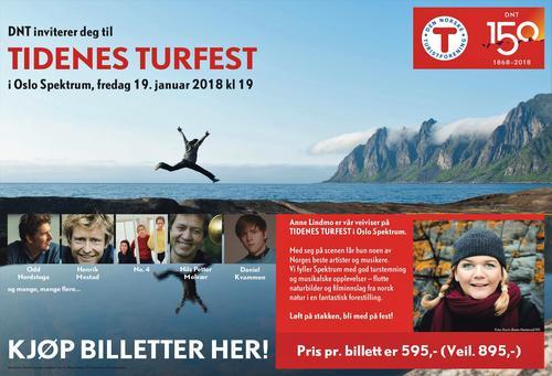 Tidenes Turfest i Oslo Spektrum
