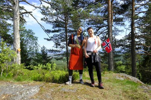 17. mai-feiring med Bærum Turlag