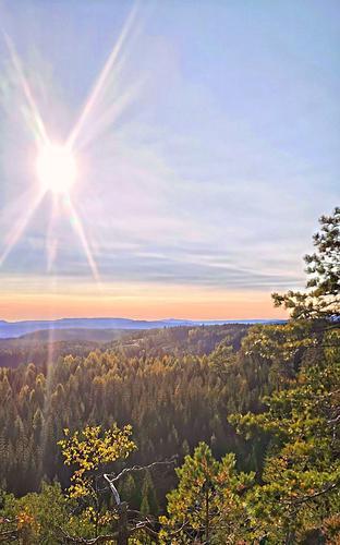Tur med utsikter i Kjekstadmarka øst