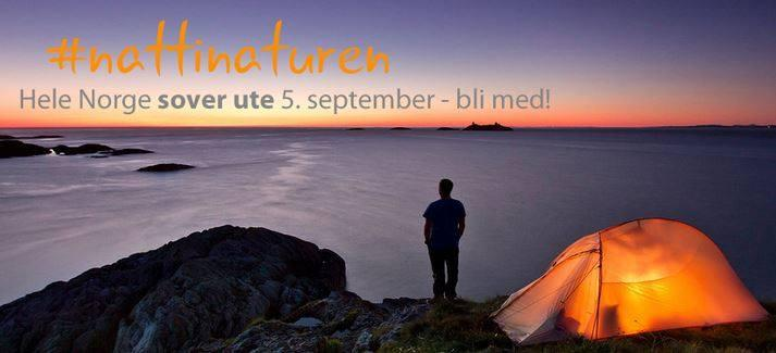 Hele Norge sover ute