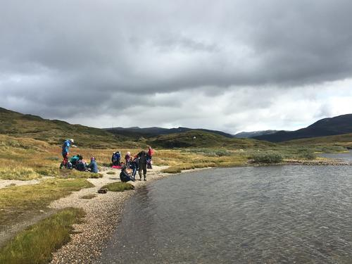 Slik gjekk turen til Lars-Ola vatnet med Barnas Turlag