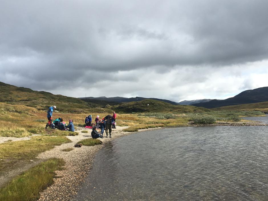 Ved Lars-Ola vatnet